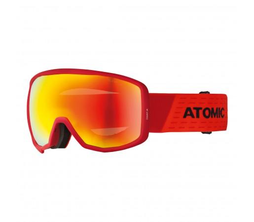 Ochelari Ski si Snowboard Juniori Atomic Count Spherical Jr Rosu / Negru