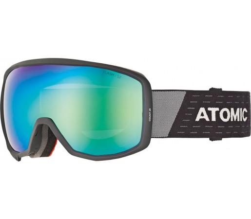 Ochelari Ski si Snowboard Juniori Atomic Count Spherical Jr Negru / Gri