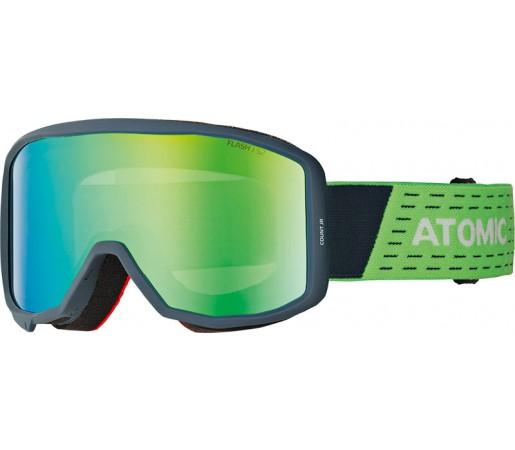 Ochelari Ski si Snowboard Juniori Atomic Count Cylindrical Jr Albastru / Verde