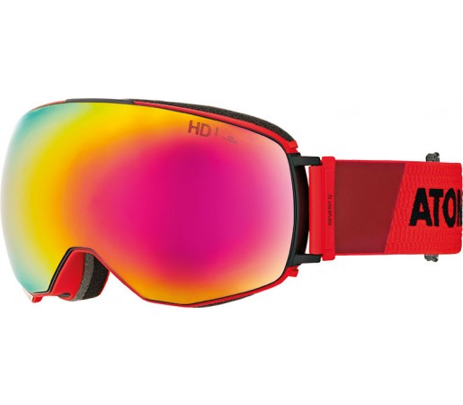 Ochelari Ski si Snowboard Atomic Revent Q Hd Rosu