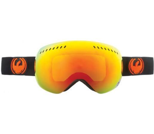 Ochelari Schi si Snowboard Dragon APXS Jet / Red Ion + Yellow Blue Ion