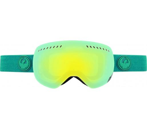 Ochelari Schi si Snowboard Dragon APXS Aqua Heather Albastru / Smoke Gold+ Yellow Blue Ion