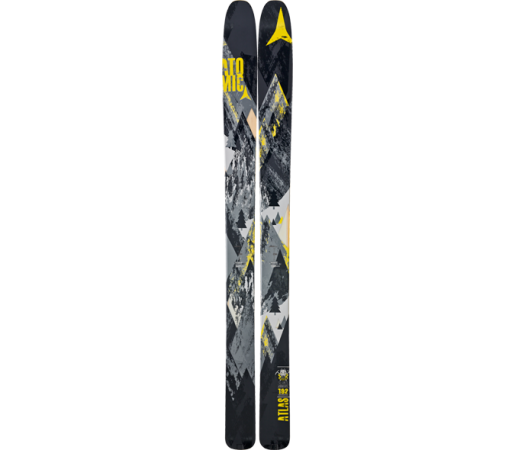 Ski Atomic Atlas Black/Yellow 2013
