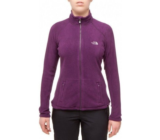 Bluza The North Face W's 100 Glacier FZ Violet 2013
