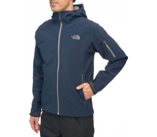 Bluza The North Face M Apex Android Hoodie Bleu