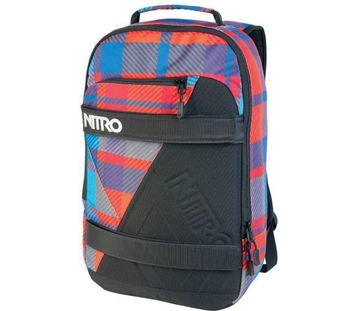 Geanta Nitro Axis Rosu/Albastru