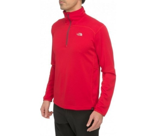 Bluza The North Face M Nihon 1/4 Zip Rosu