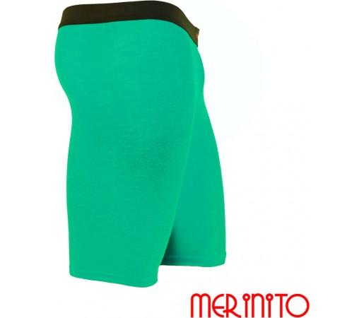 Pantaloni First Layer Merinito Scurti Turquoise