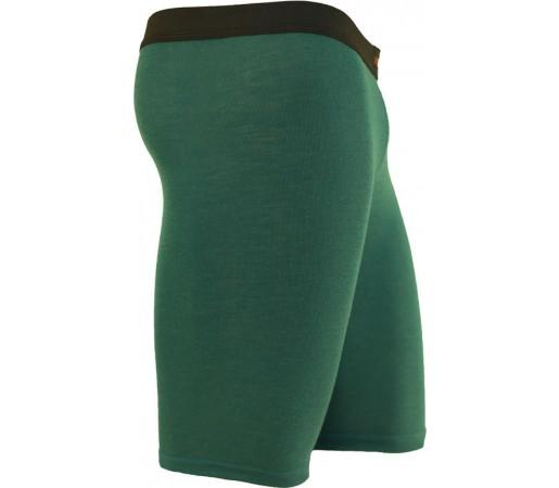 Pantaloni First Layer Merinito Scurti Verde