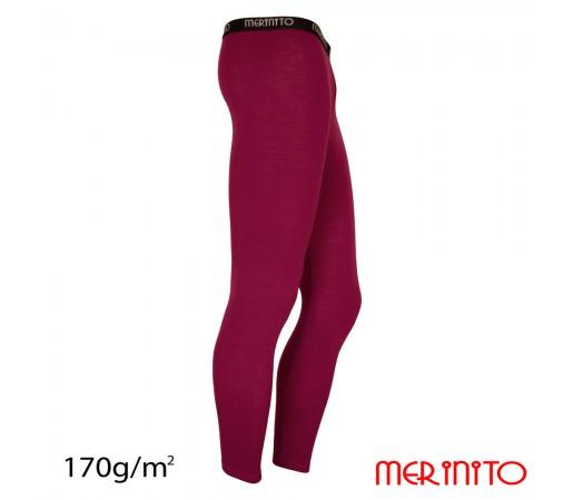Pantaloni First Layer Merinito 100% Merinos 170g M Mov