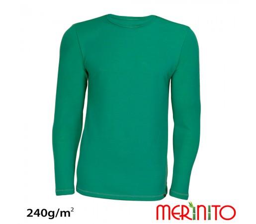 Tricou Merinito Merinos + Bambus 240g M Turcoaz