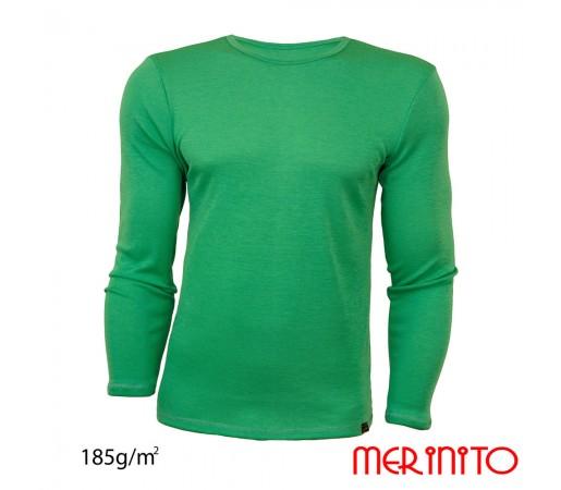 Bluza Merinito 100% Merinos 185g M Verde