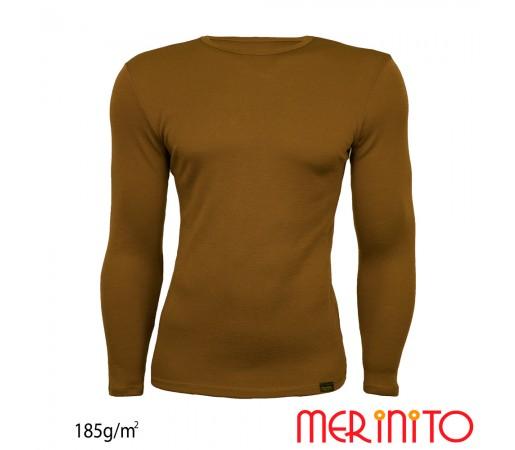 Bluza First Layer Barbati Merinito 185g/mp Olive