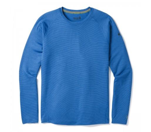 Bluza First Layer Barbati Smartwool Merino 150 Baselayer Pattern Long Sleeve Albastru