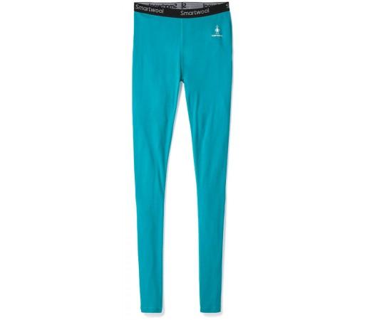 Pantaloni First Layer Femei Smartwool Merino 200 Bottom Verde