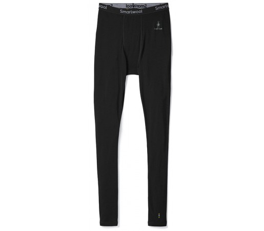 Pantaloni First Layer Barbati Smartwool Merino 200 Negru