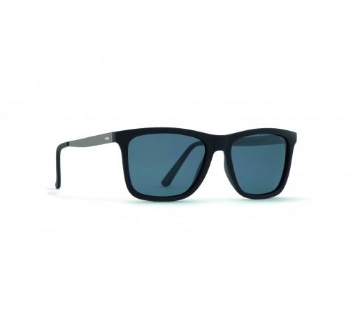 Ochelari de Soare Invu Classic Collection M Rubb. Black / Matt Gun - Solid Grey