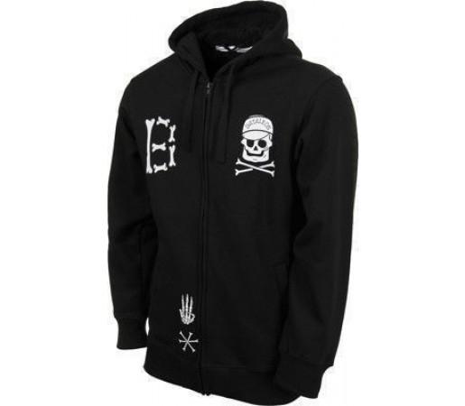Hanorac Bataleon Bones Zip Hood Black 2013