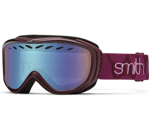 Ochelari Schi si Snowboard Smith TRANSIT PRO Blackberry/Blue Sensor mirror