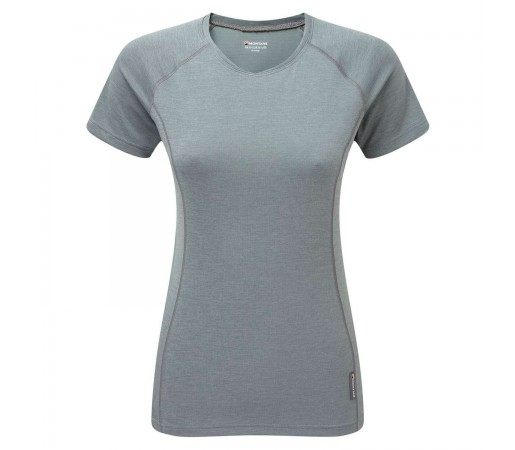 Tricou Tehnic Femei Montane Dart S/S Grey
