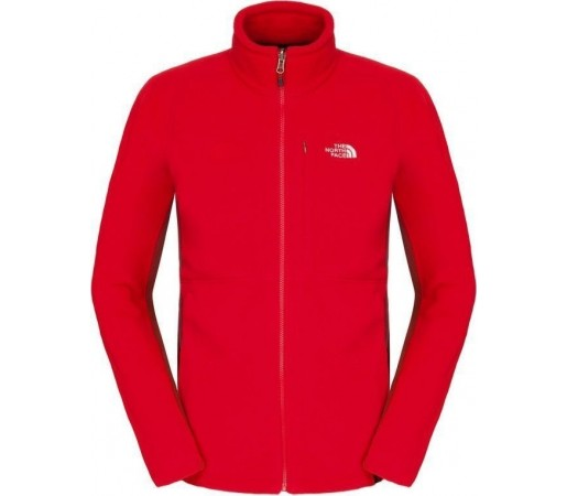 Polar The North Face 200 M Shadow Full Zip Red