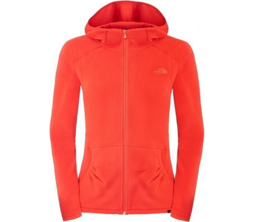 Bluza The North Face W 100 L/S Masonic Hoodie Rosie