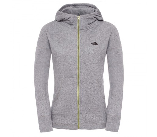 Bluza The North Face W Full Zip Gri