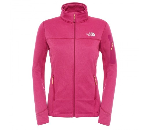 Polar The North Face W Kyoshi Full Zip Jacket Violet