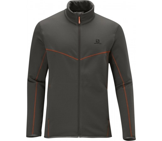 Bluza Salomon CRUZ FZ M GREY