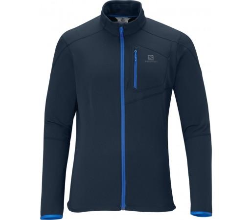 Bluza Salomon DISCOVERY FZ MID BIG BLUE