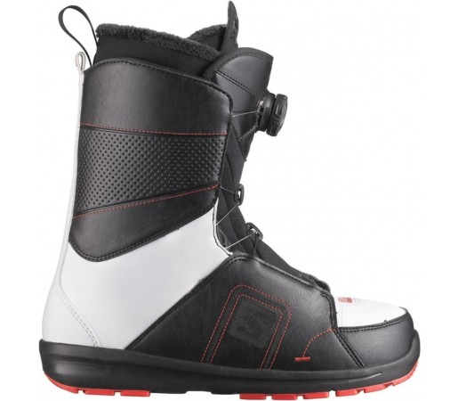 Booti Salomon Faction Boa Black- White- Red