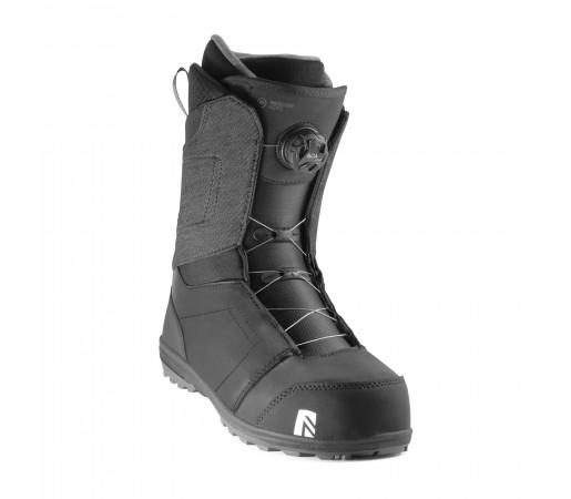 Boots Snowboard Nidecker Aero Boa Coiler Black Negru Barbati