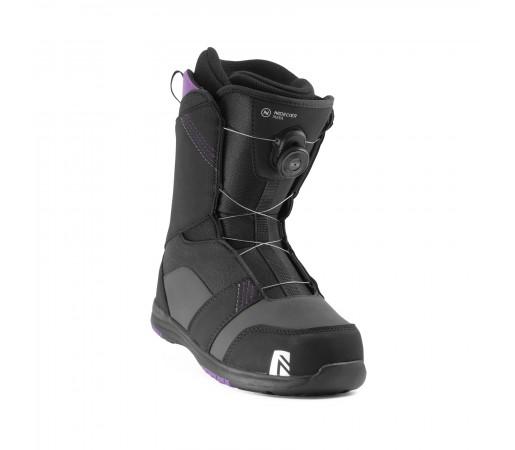 Boots Snowboard Nidecker Maya Boa Negru Femei