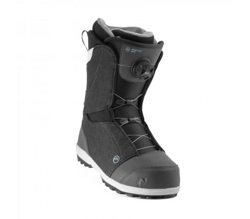 Boots Snowboard Nidecker Onyx Coiler Slate Negru Femei