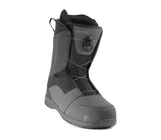 Boots snowboard Nidecker Ranger Boa Slate Negru Barbati