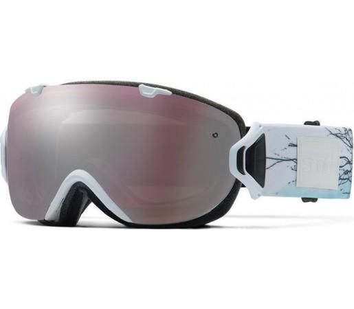 Ochelari Schi si Snowboard Smith  I/OS White Branching Out / Ignitor mirror