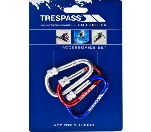 Breloc Trespass Lock Assorted