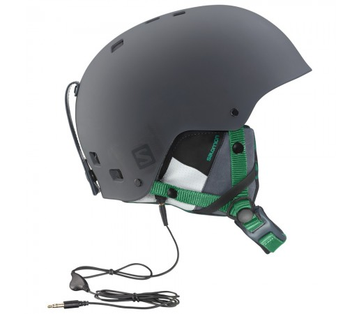 Casca schi si snowboard  Salomon Brigade Audio Gri