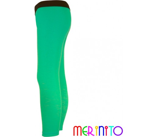 Pantaloni first layer copii Merinito Turquoise