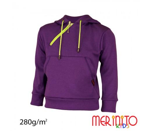 Hanorac Merinito 100% lana merinos 280G K Mov