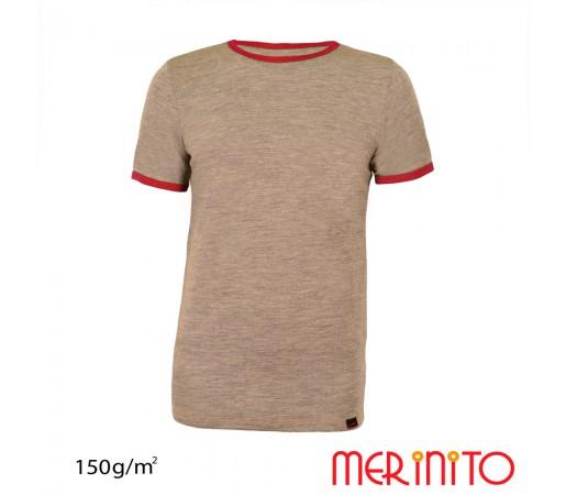 Tricou First Layer Merinito 100% lana merinos 150G K Gri