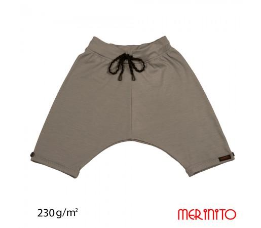 Pantaloni Scurti Merinito 230G K Gri