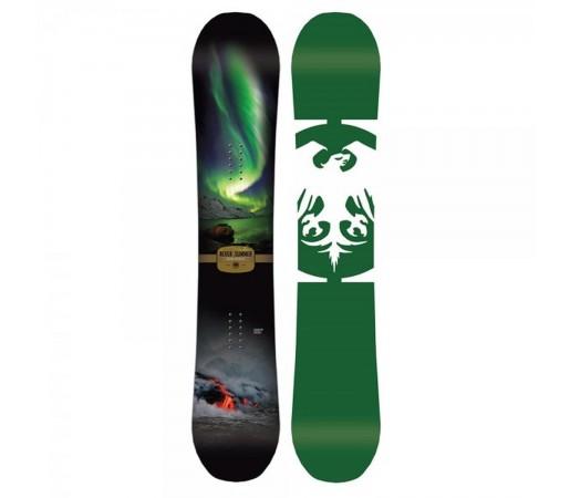 Placa Snowboard Unisex Never Summer Snowtrooper 159 Verde