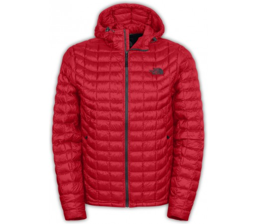Geaca The North Face Thermoball Hoodie Rosu/Gri