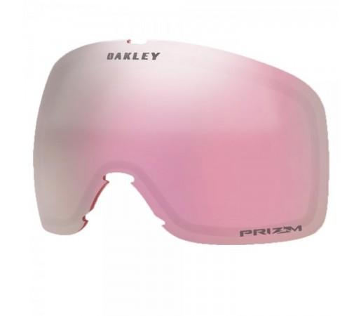 Lentila Ochelari Ski si Snowboard Oakley Flight Tracker XL Prizm Hi Pink Roz