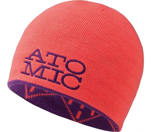 Caciula Atomic Amt Stacked Revers Portocaliu/ Mov