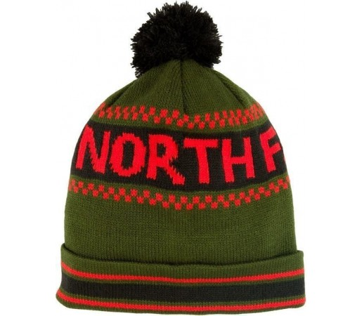 Caciula The North Face Ski Tuke IV Green