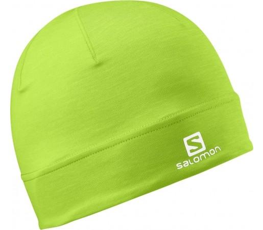 Caciula Salomon Active Beanie Green