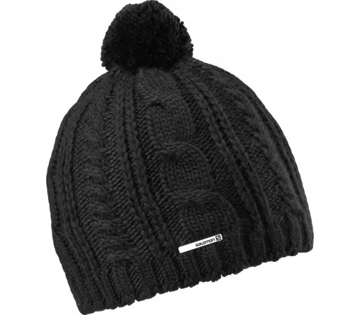 Caciula Salomon Back Country Beanie Big Black