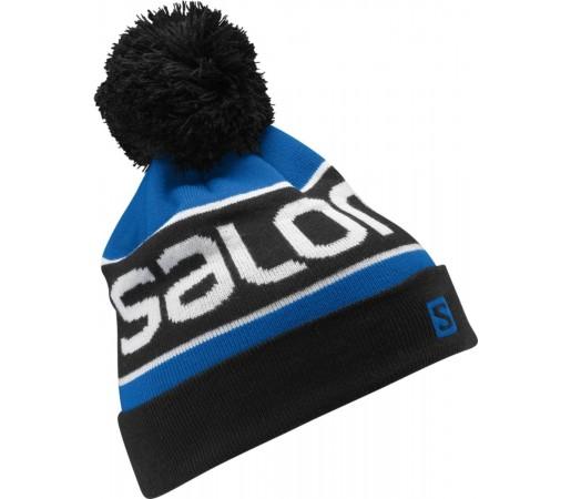 Caciula Salomon Junior Logo Blue